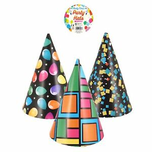 Neon Cardboard Party Hat Fancy Dress Accessories Birthday Party Accessories Fun
