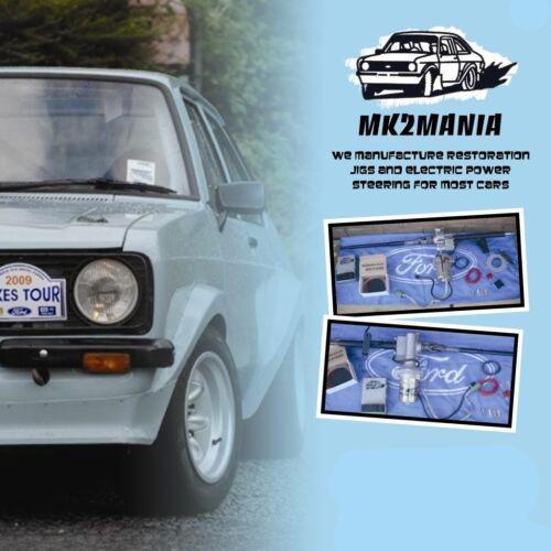 MK2MANIA ESCORT MK1 2 REAR CALIPER BRACKETS SUIT ENGLISH AXLE CORTINA CAPRI NEW