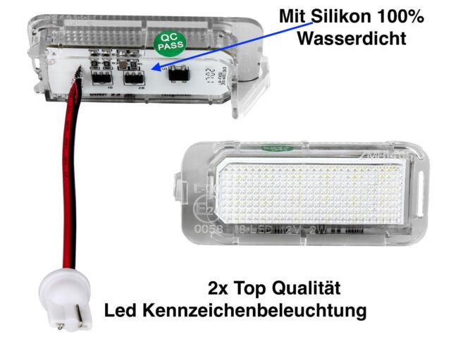LED Kennzeichenbeleuchtung Ford Focus II 2 Stufenheck DA3 MK2 Ab 02/2008 (KS1