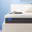 "jingwei 5"" supportive medium firm queen size gel infused mattress 60"" x 80"" x 5"""