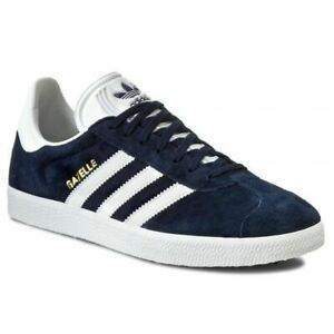 Details about Men's Adidas Gazelle Classic Trainers Sneakers Casuals Navy