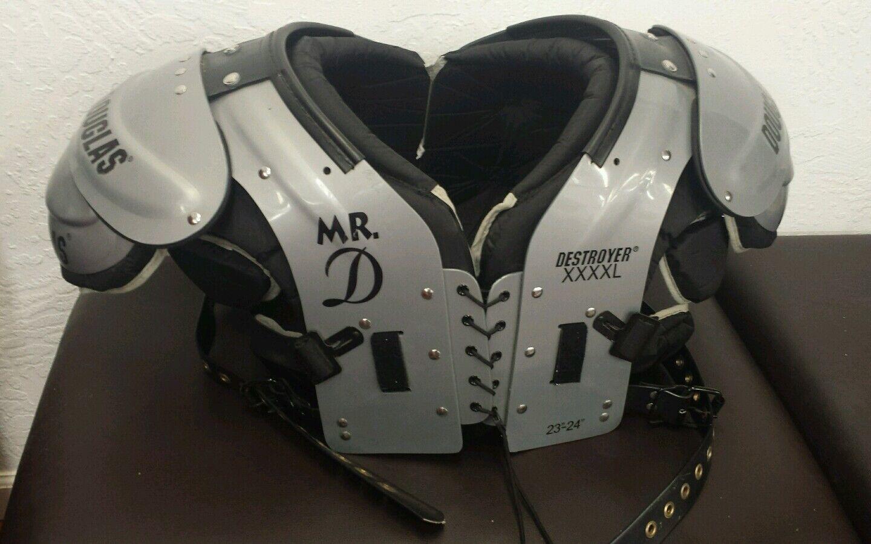 DOUGLAS DP MR. D DESTROYER  ADULT FOOTBALL SHOULDER PAD XXXXL