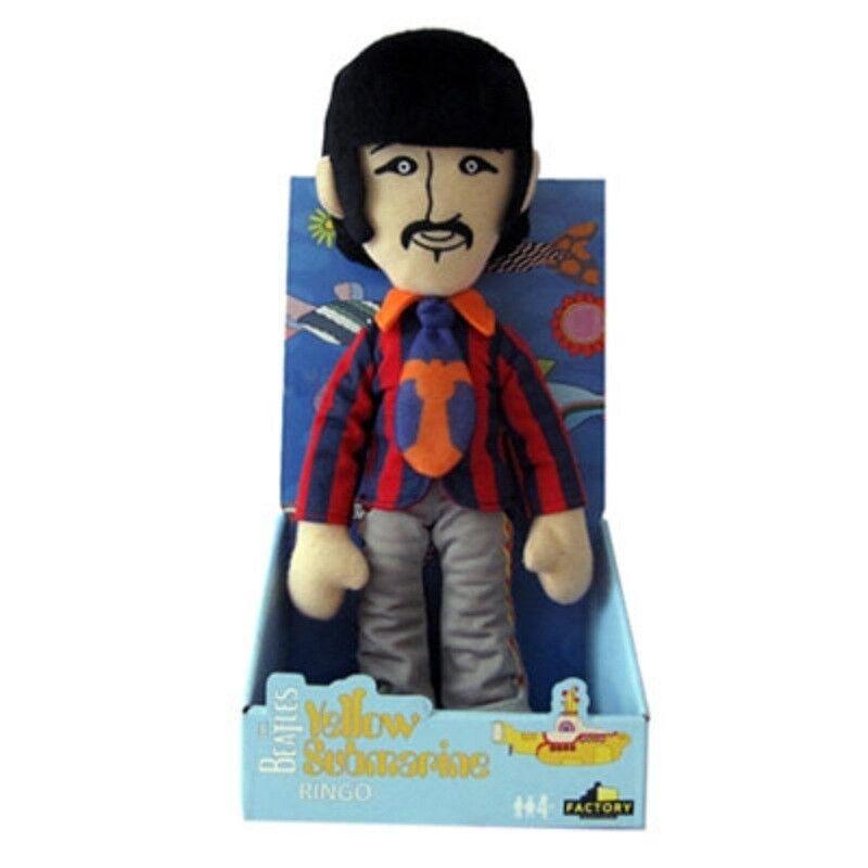The Beatles RINGO Factory Entertainment giallo Submarine Band Plush Dolls John