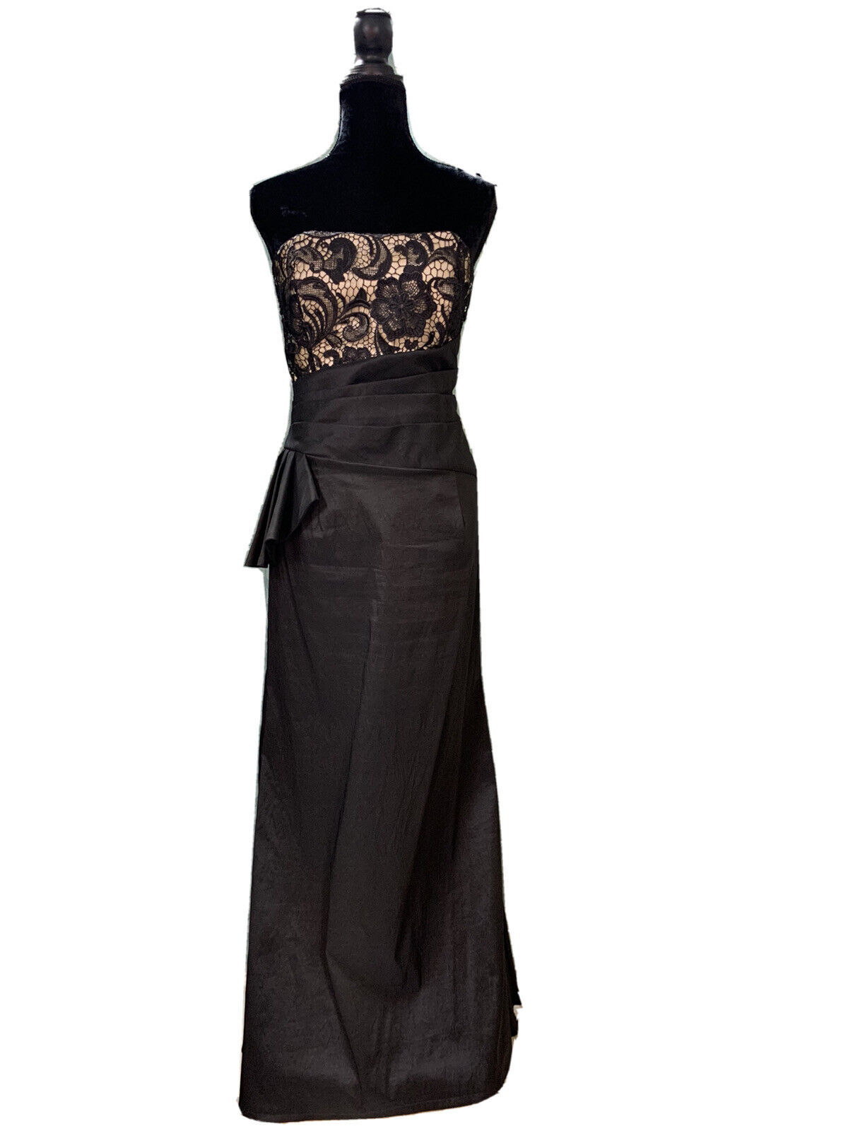10-12 Black Prom Party Homecoming Dance Pageant MOTB Formal evening Gown Dress