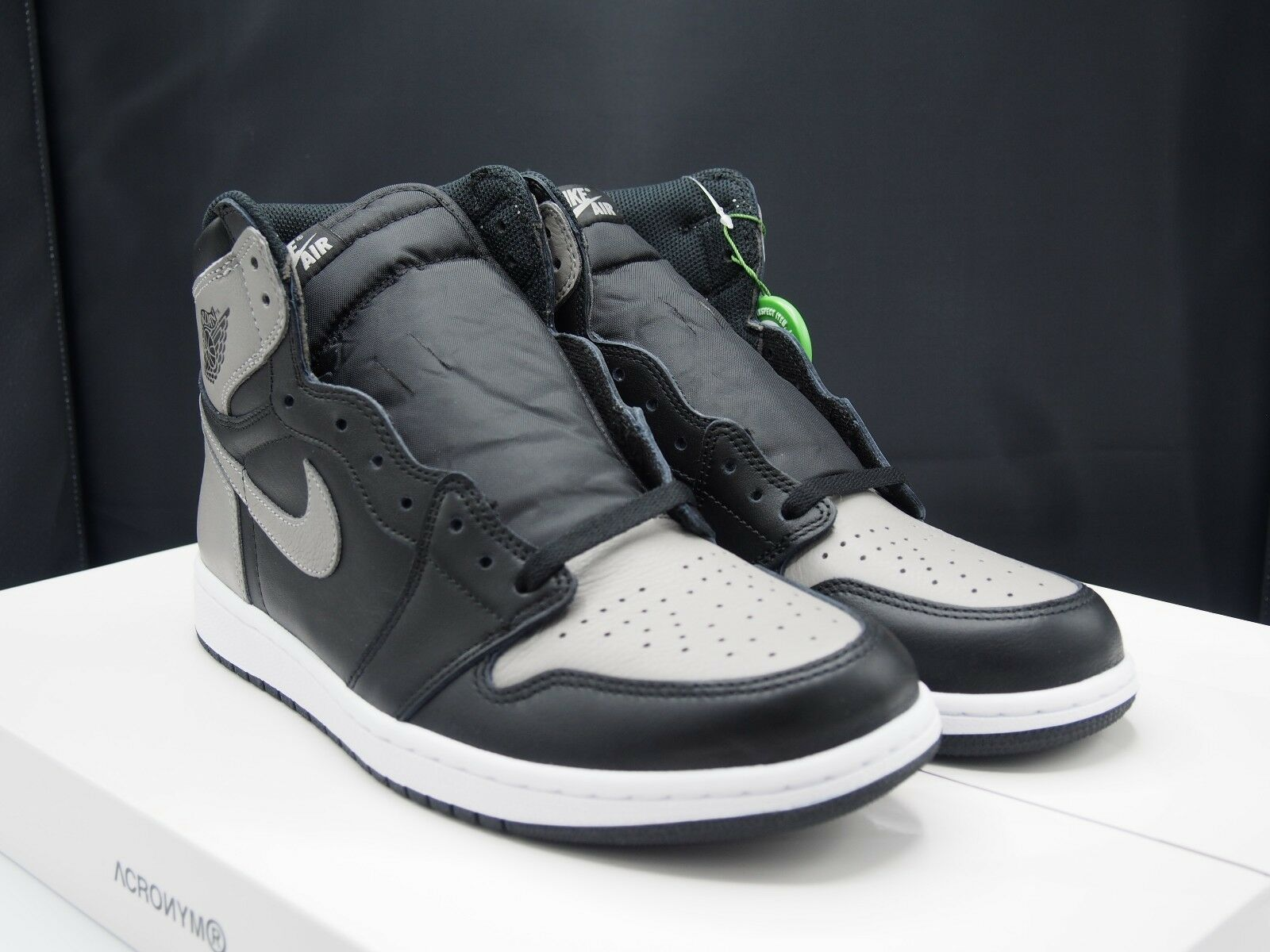 Nike air jordan 1 alta og retrò 555088-013 ombra