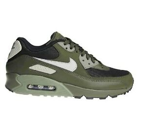 new concept 6a68d da75f Image is loading Nike-Air-Max-90-Mesh-GS-Cargo-Khaki-