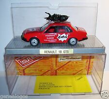 OLD NOREV RENAULT 18 GTS R18 CATCH TOUR DE FRANCE 1979 REF 511802 1/43 BOX NEUF