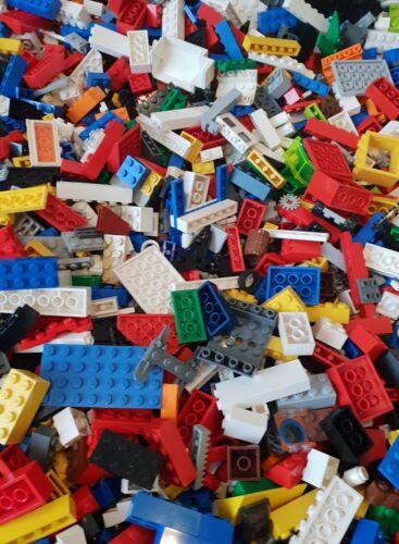 Genuine Lego Bundle 1kg-1000g Mixed Bricks Parts Pieces 2 Figures Job Lot