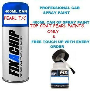 Two Stage Pearl Effect Top Coat Spray Paint Can To Add To Existing