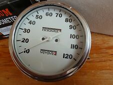 PREMIUM MPH  HARLEY DAVIDSON WHITE FACED MPH 1.1 RATIO SPEEDO FOR  1968 AND UP