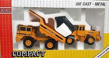 Joal Volvo Bm 540 Dump Truck & Volvo Bm 4600b Front End Loader  ref 383 SPAIN