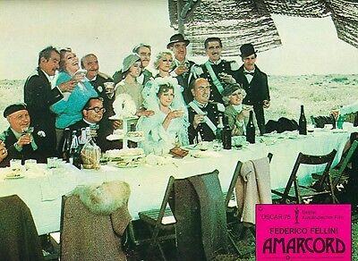 Amarcord ORIGINAL AH-Foto Federico Fellini SUPER