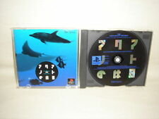 THE AQUANAUTS HOLIDAY PS1 Playstation PS Import JAPAN Video Game p1