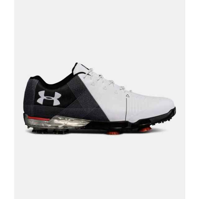 eff6fc56987d94 Under Armour 2018 Men s Spieth 2 Golf Shoes Size 11.5 E Width White ...
