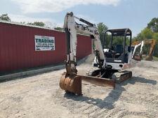 2007 Bobcat 331g Hydraulic Mini Excavator 3rd Valve Blade Kubota Diesel Engine