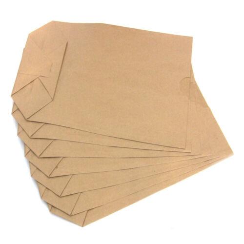 Papiertüten Kreuzboden für Weihnachtskalender Kraftpapier Adventskalender II