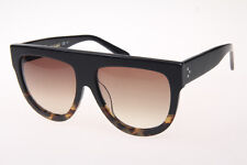 Authentic Celine Shadow 41026/S FU5/5I Sunglasses Black Havana/Brn Gradient 58mm
