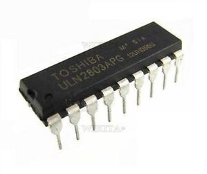 50Pcs-Toshiba-DIP-18-ULN2803APG-ULN2803-Darlington-Arrays-New-Ic-ei