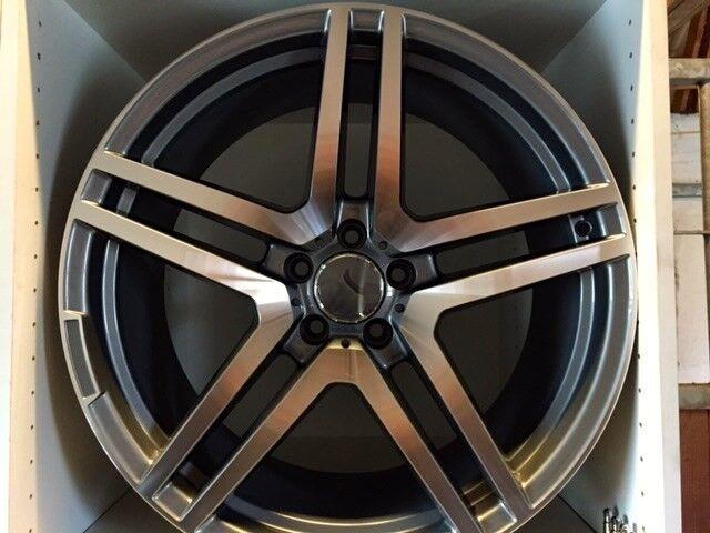 """Alufælge, 20"""", Mercedes AMG"""