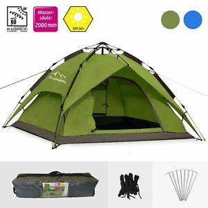 Details zu Zelt Sekundenzelt Campingzelt 2 3 Personen Wurfzelt Outdoor Wurfzelt Tent pop up