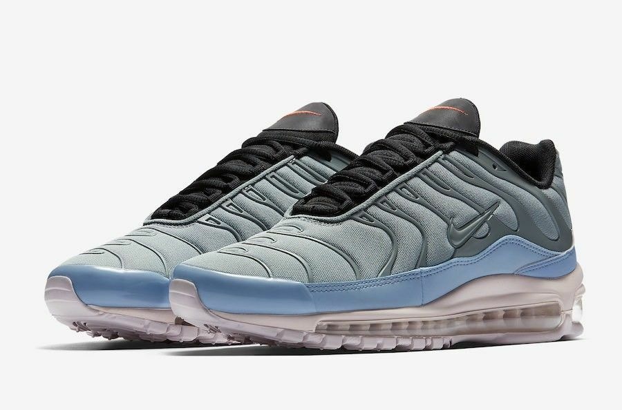 Nike Air Max 97 Plus Mica Green Barely pink AH8144-300 Sz 5 (Women's 6.5) AM97