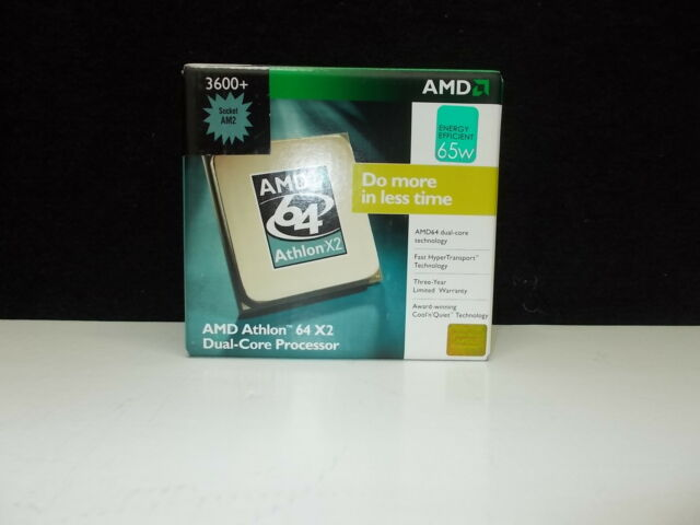 AMD Athlon 64 X2 ; Dual-Core Processor ; Originalverpackt ; Boxed  #K-30-4