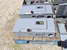 Square D Safety Switch 100A, 600V Nema 1 Encl. Not-Fusible Cat# HU363 .. DS-733