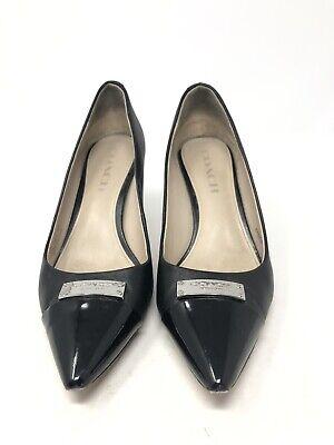 Coach Black Patent Leather A6275 Zan