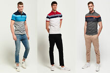 Superdry Mens Miami Feeder Polo Shirt