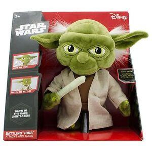 STAR WARS Battling Yoda