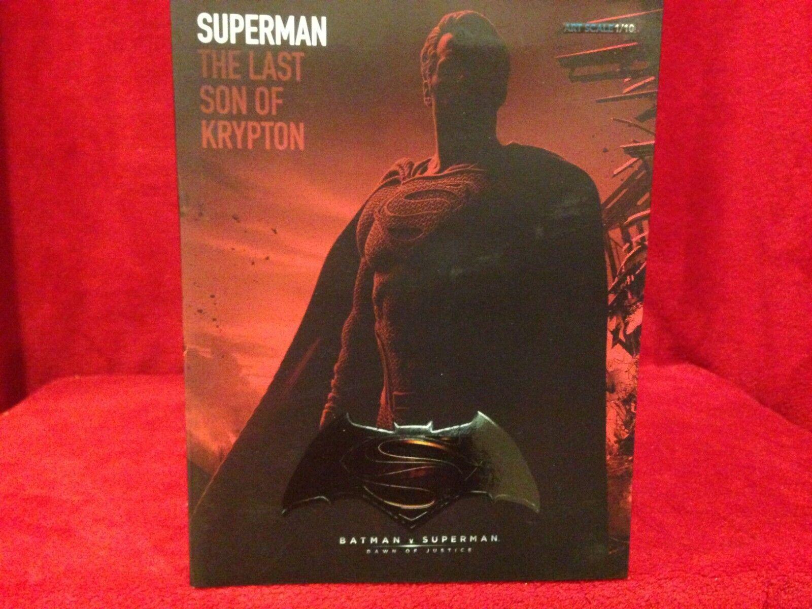 Superman Statue Iron Studios Batman vs Superman 1:10 Scale / BRAND NEW on eBay thumbnail