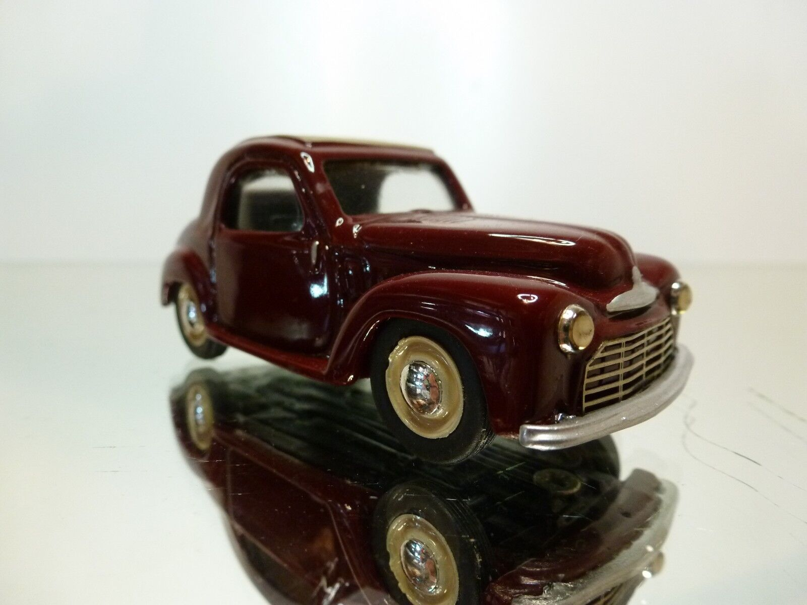 MINIROUTE 41 41 41 SIMCA 6 1949 - RED BROWN 1 43 - EXCELLENT CONDITION - 9 06e0f2