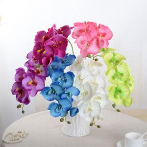 Kuenstlich-Schmetterling-Orchidee-Blume-Pflanze-Zuhause-Dekor-Kuenstlich-Blume-Hot