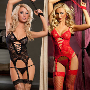 Women Underwear Hollow Details Night Bodysuit Lace Jumpsuit Sexy Lingerie Out About Backless zMqpSUV