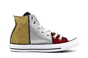 Détails sur Converse A19f chaussures pour femmes baskets haute 165776C CTAS CANVAS SYNT. L