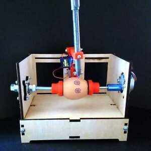 Sphere Bot Egg Paint Robot Arduino Kit DIY Eggbot 3D printer BALL EASTER