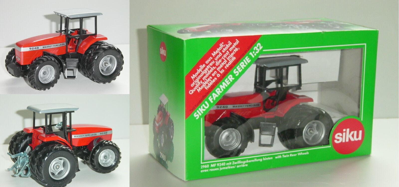 Siku Farmer Farmer Farmer 2960 Massey Ferguson 9240 Traktor mit Zwillingsbereifung, 1 32 c7b456