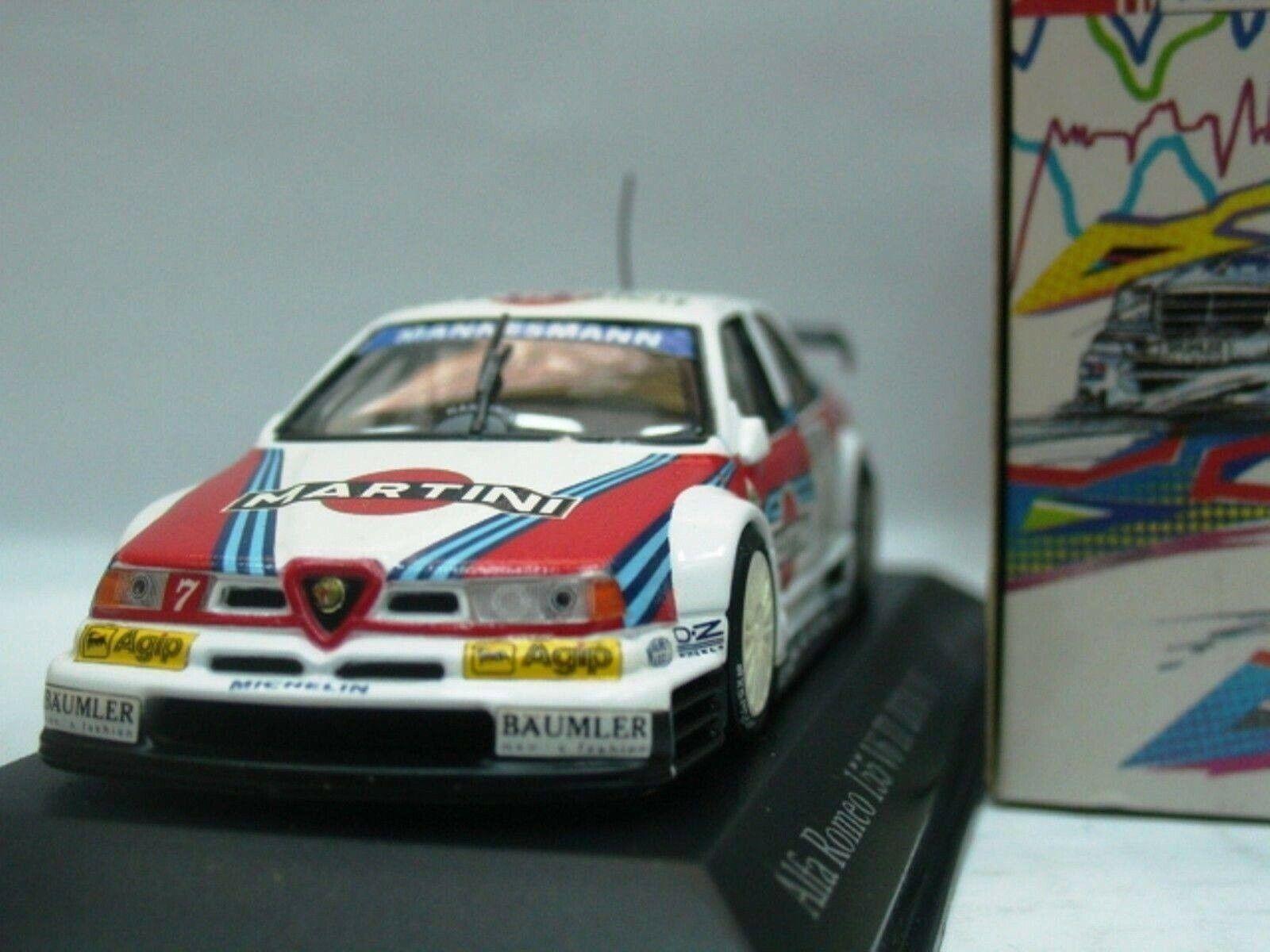 WOW EXTREMELY RARE Alfa Romeo 155 V6  DTM 1995  7 Nannini France 1 43 Minichamps