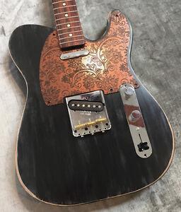 Faux Copper Paisley Custom Bakelite Pickguard Fits Fender