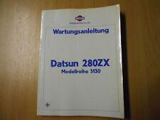 Werkstatthandbuch Werkstattbuch Datsun 280 ZX Modellreihe S130 (1979)