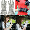 Fashion Women's Sexy Wedding Bridal Driving Evening party Lace Gloves Mittens