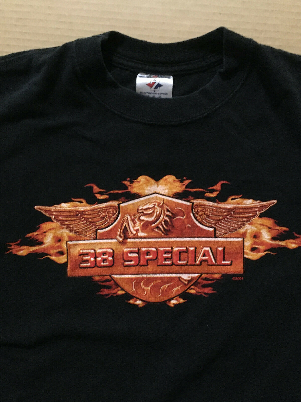 38 SPECIAL Limited 2004 DOUBLE SIDED T SHIRT w/TAG of Drivetrain CD thirty Eight