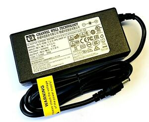 GENUINE-CWT-CHANNEL-WELL-TECHNOLOGY-AC-ADAPTER-KPL-060F-VI-12V-5A-5-5mm-2-5mm