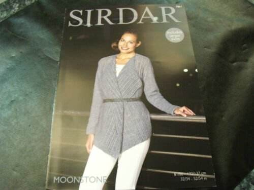 Sirdar Moonstone Jacket Pattern 7861