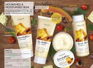 9f68edad99 Image is loading Oriflame-Sweden-Love-Nature-Facial-Kit-Tropical-Fruits-