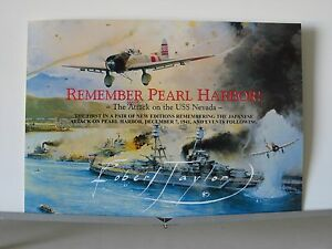 Remember-Pearl-Harbor-USS-Nevada-7-Dec-1941-Robert-Taylor-Aviation-Art-Brochure