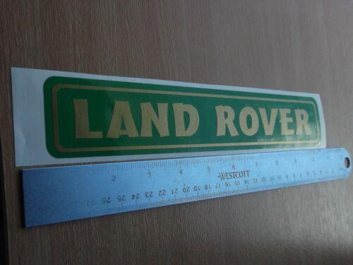 LAND Rover Adesivo decalcomania in vinile