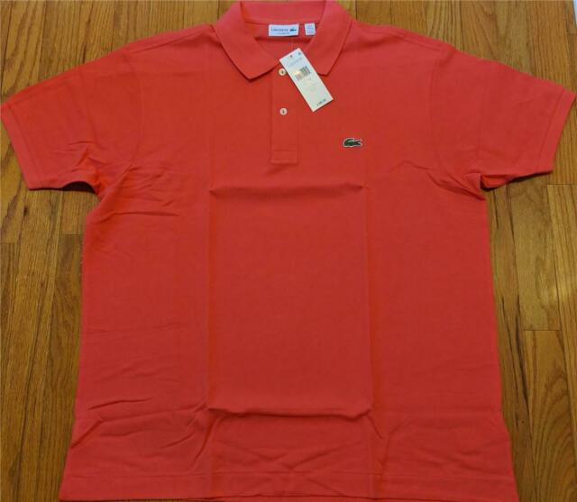 0bfa72e16 Lacoste Short Sleeve Classic Pique Polo 2x-large Sirop Pink for sale ...