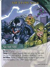 VENOM/DOC OCK/SCORPION Upper Deck Marvel Legendary SCHEME THE CLONE SAGA