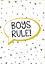Gratuit p/&p Garçons Chambre Imprime Gris Et Jaune A4-Garçons règle Boys Will Be Boys